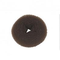 Hair Bun Brun 8 cm