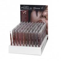 Présentoir Crayon contour des lèvres -12 pièces x 8 références