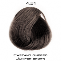 COLOREVO 4.31 CHATAIN BRUN ORANGE