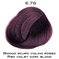 COLOREVO 6.76 BLOND FONCE VIOLET ROUGE