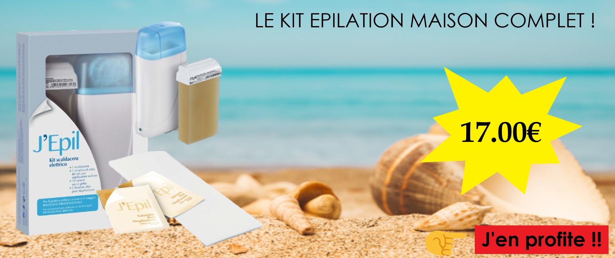 KIT EPILATION MAISON